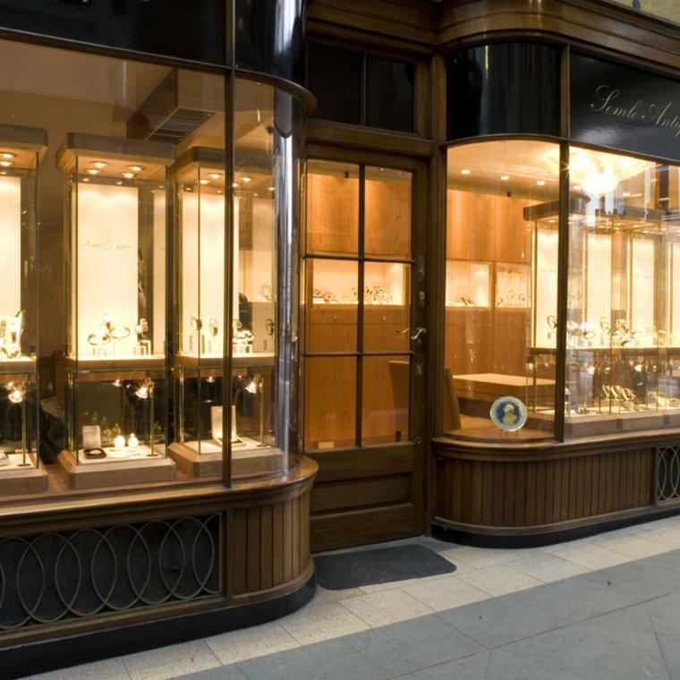 Somlo Antiques in the Burlington Arcade