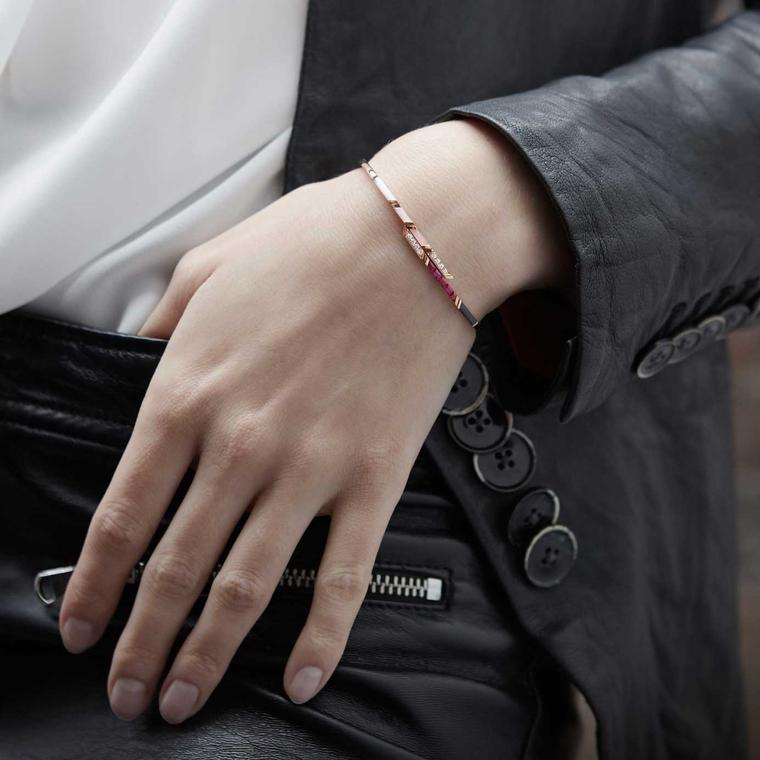 Tomasz Donocik ruby stellar bangle