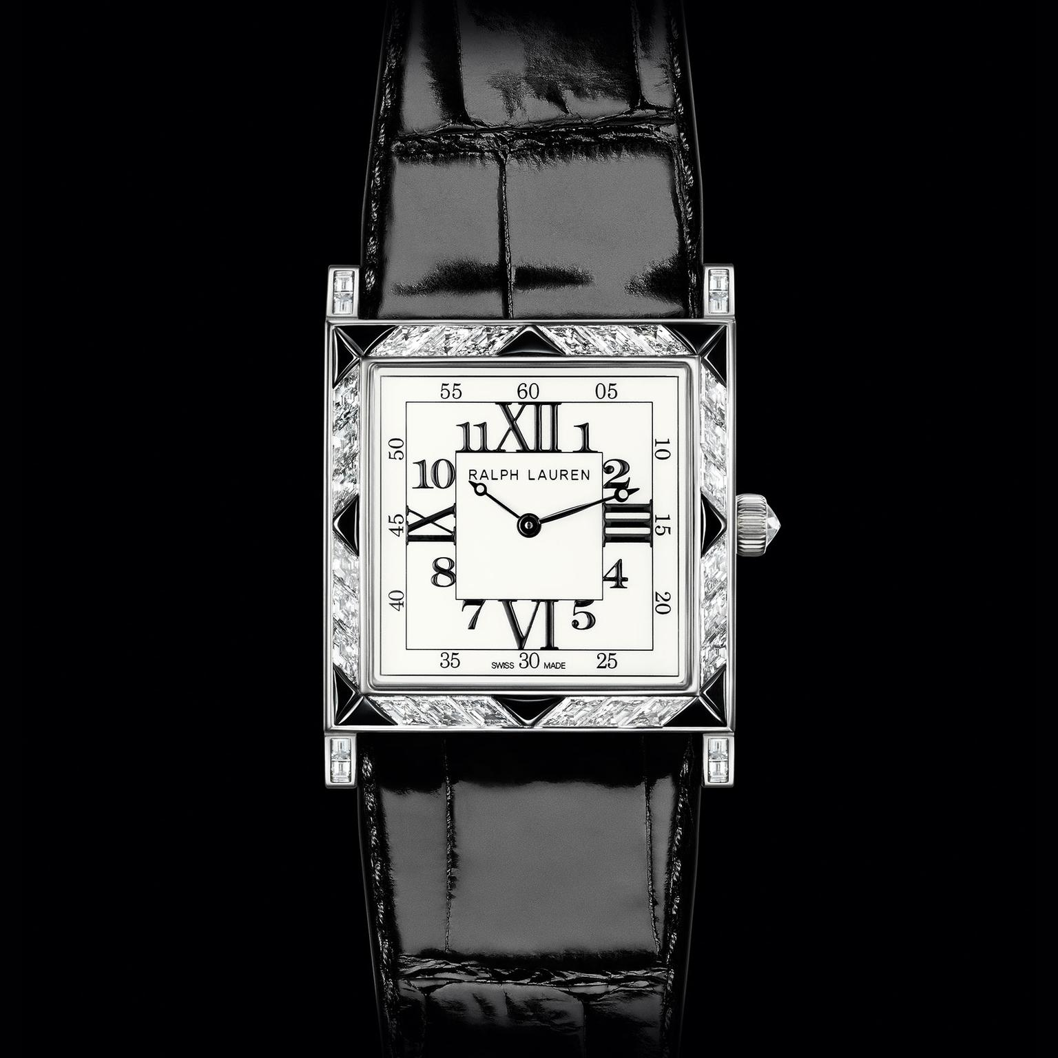 Ralph Lauren 867 Deco Diamond watch