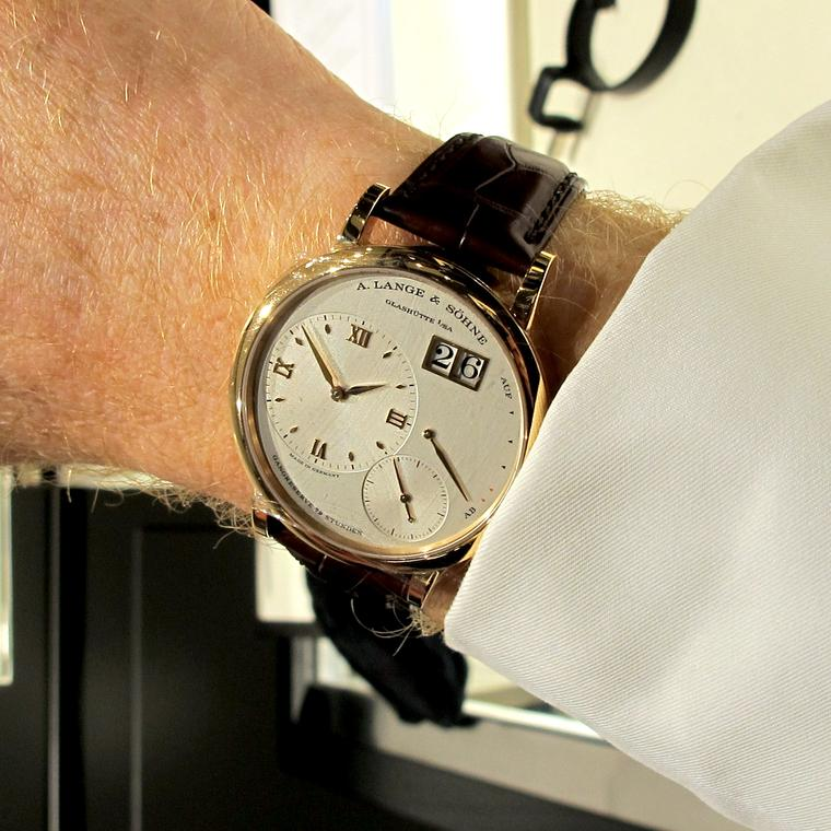A. Lange & Söhne Grand Lange 1 watch in rose gold