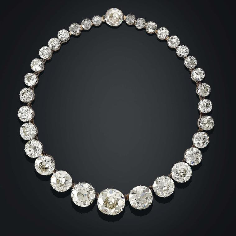 Golconda Diamond Riviere Necklace