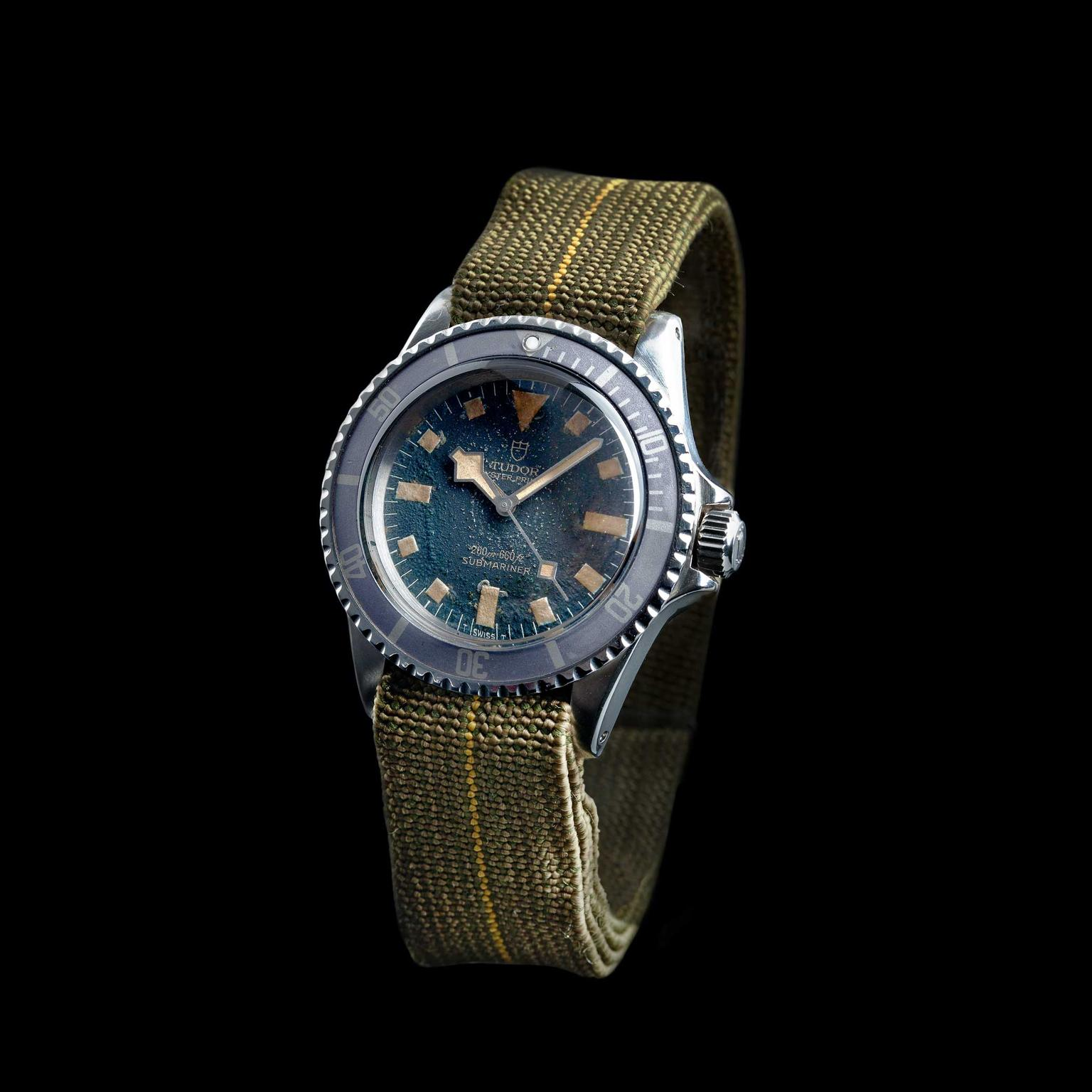 Tudor 1977 Oyster Prince Submariner Marine Nationale watch