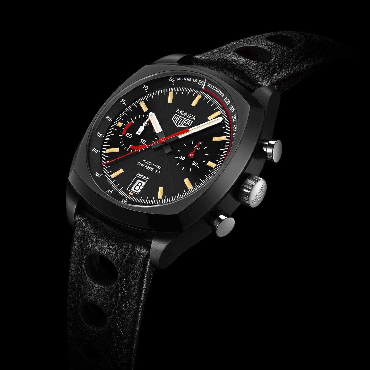 watch hyperchrome of tachymeter cases pioneer close ceramic up in baselworld with sjx the at first brown for unveiled use chocolate its rado a by watches
