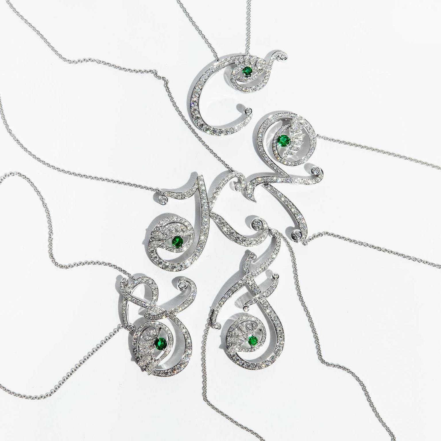 Nigora Tabayer Eye Collection necklaces