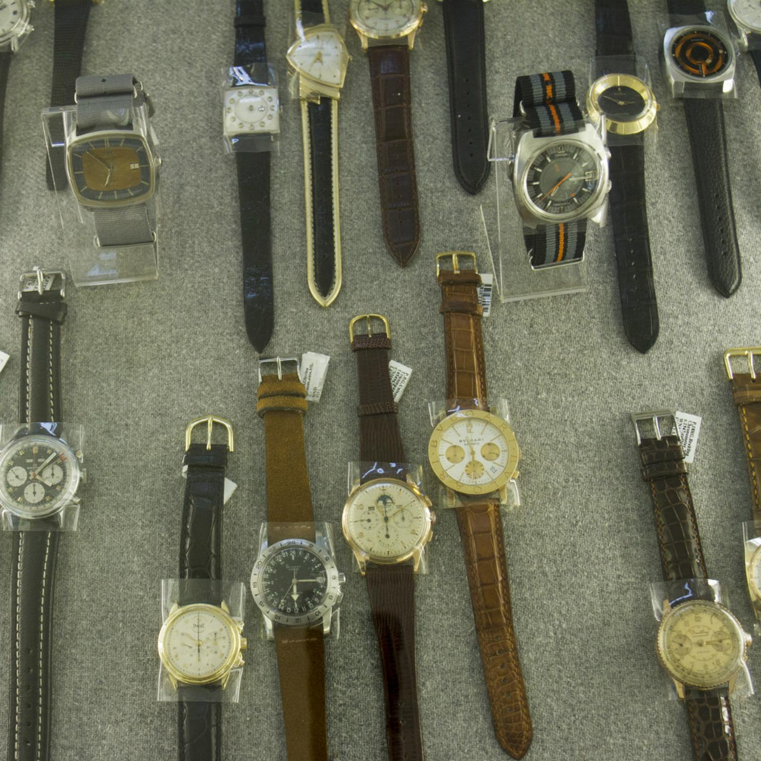 Aaron Faber Gallery New York vintage watches