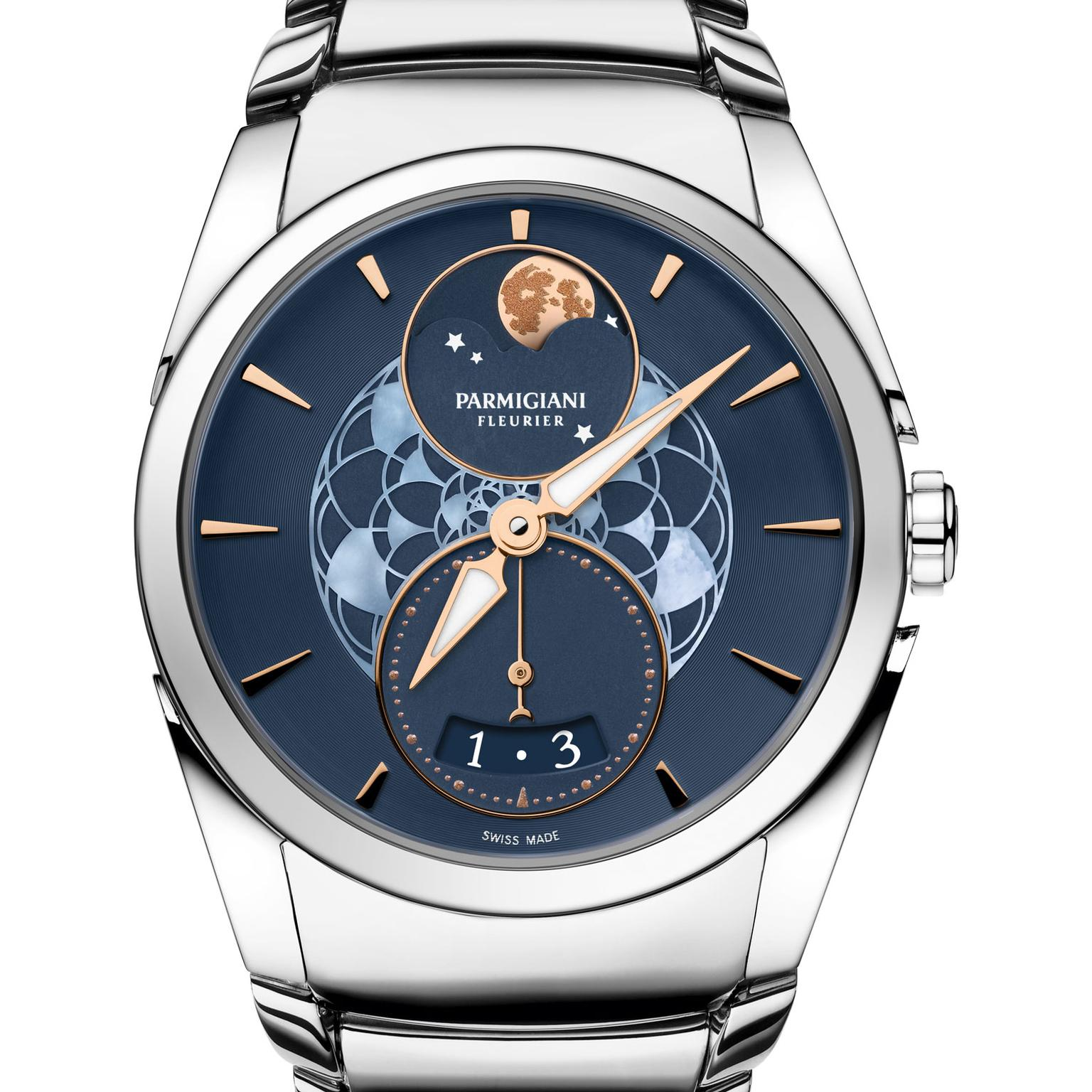 Parmigiani Tonda Metropolitaine Sélène Moon phase watch