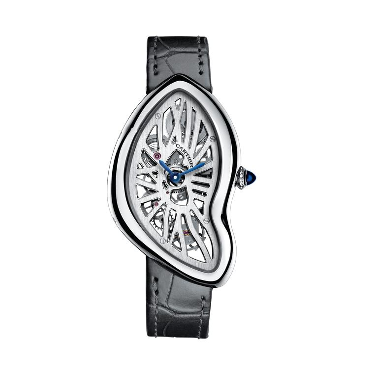 Cartier Crash Skeleton platinum 2015
