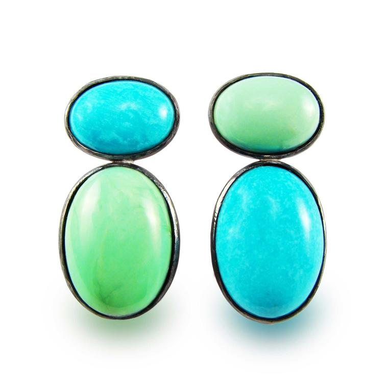 Corrado Giuspino turquoise earrings
