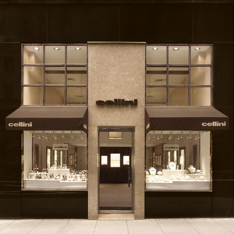 Cellini Madison Avenue store front