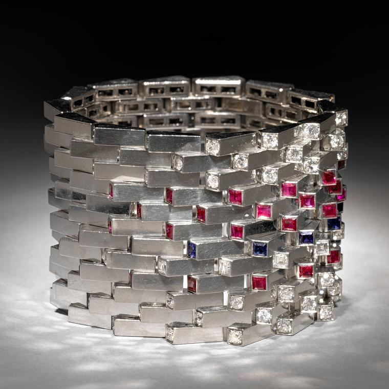 Boucheron Art Deco bracelets circa 1930s from the collection of Neil Lane