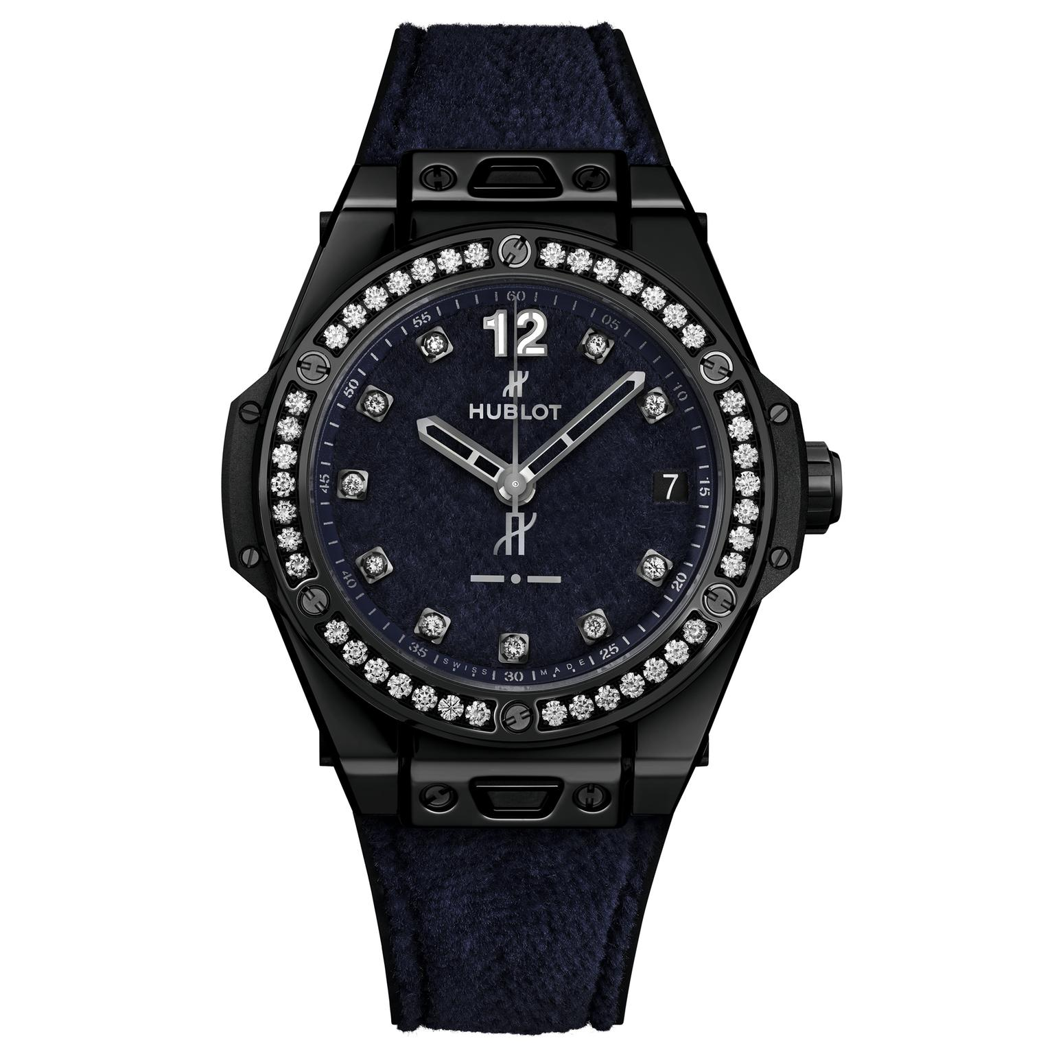Hublot italia independent purple velvet