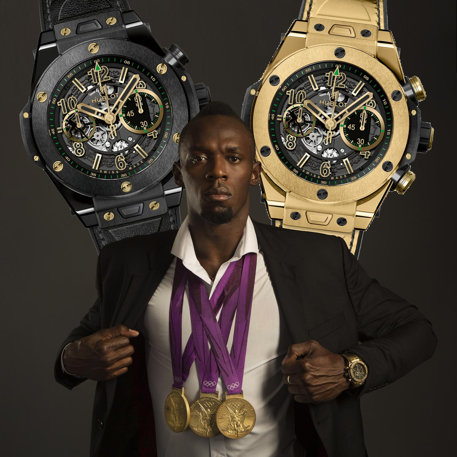 Usain Bolt Hublot watches