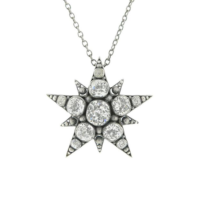 A Brandt & Son starburst necklace