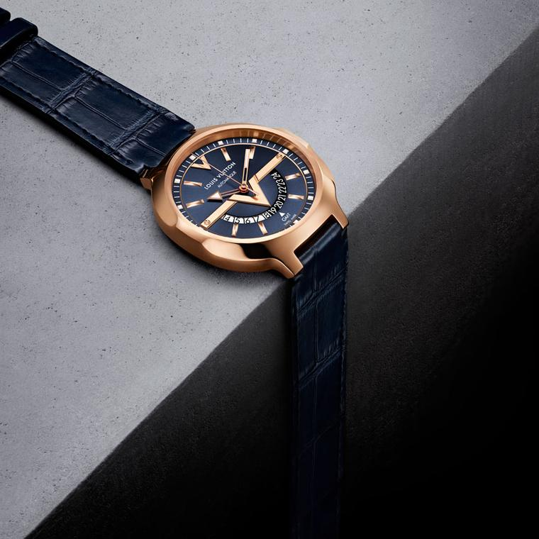 Louis Vuitton Voyager GMT pink gold