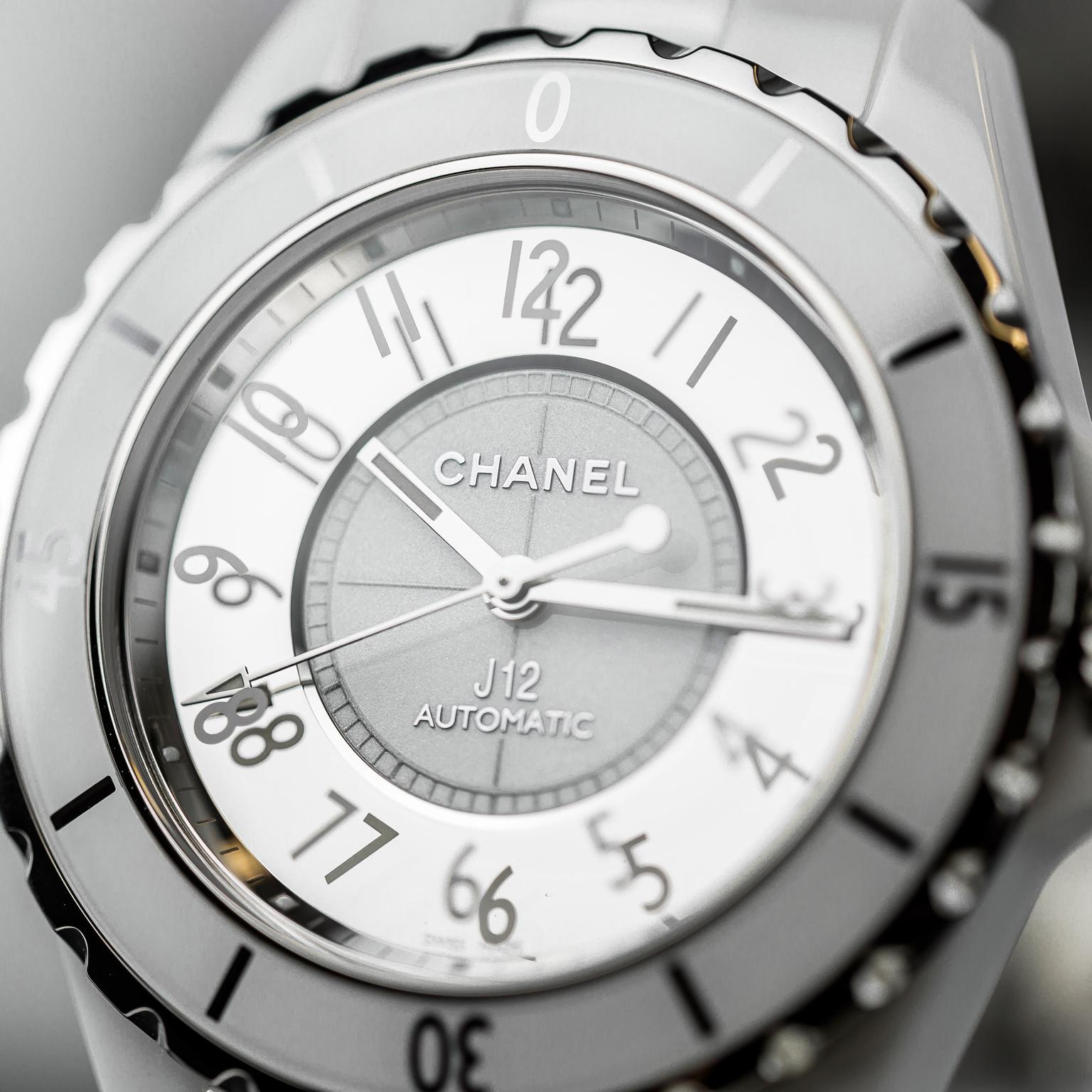 Chanel J12 mirrored watch