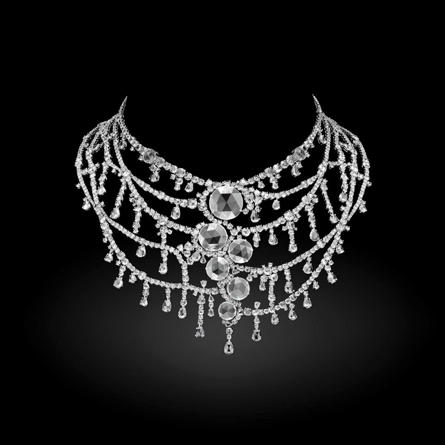 Michelle Ong Floating Diamond necklace