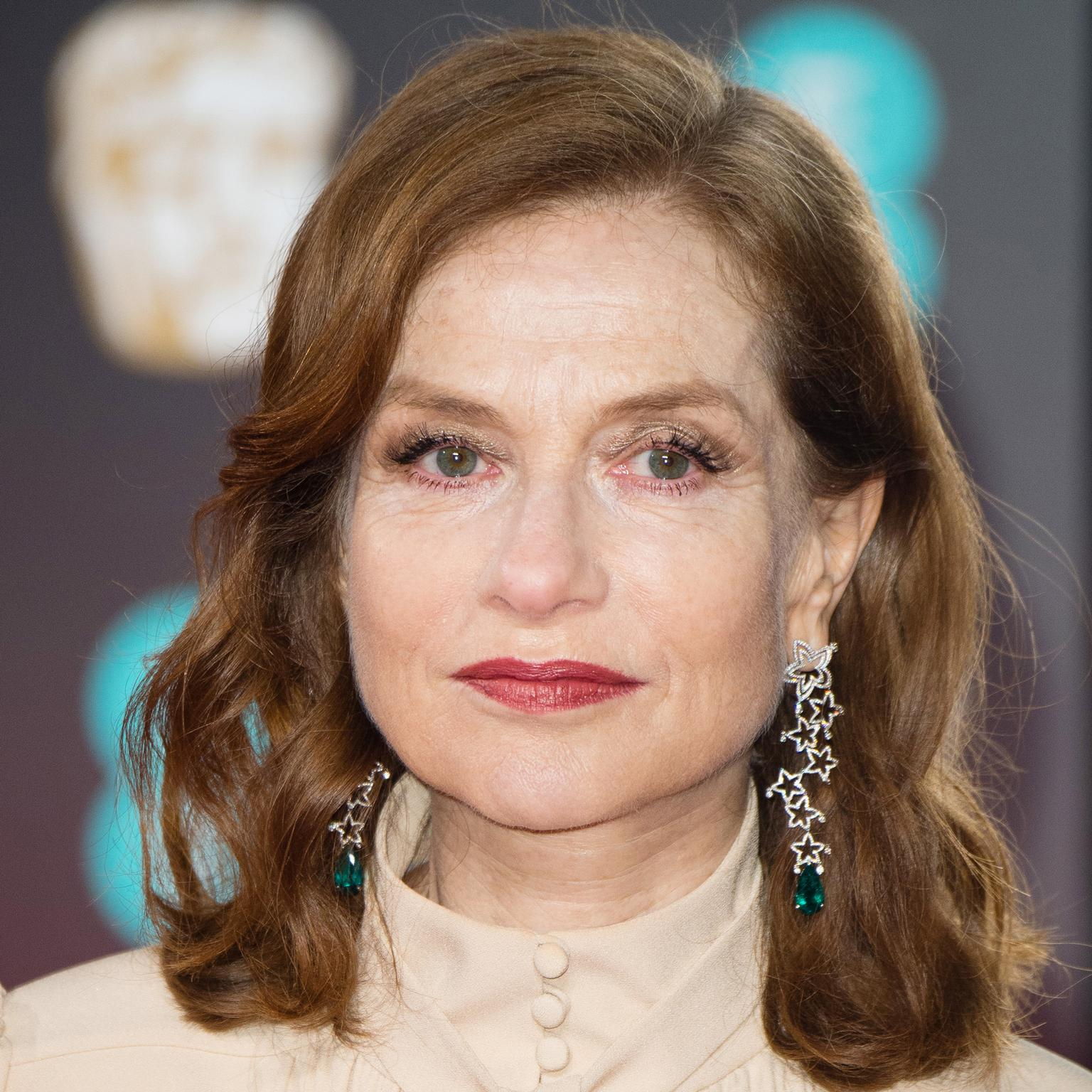 Isabelle Huppert wearing Chopard to the 2017 BAFTAs