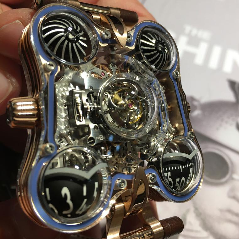 MB&F Horological Machine No.6