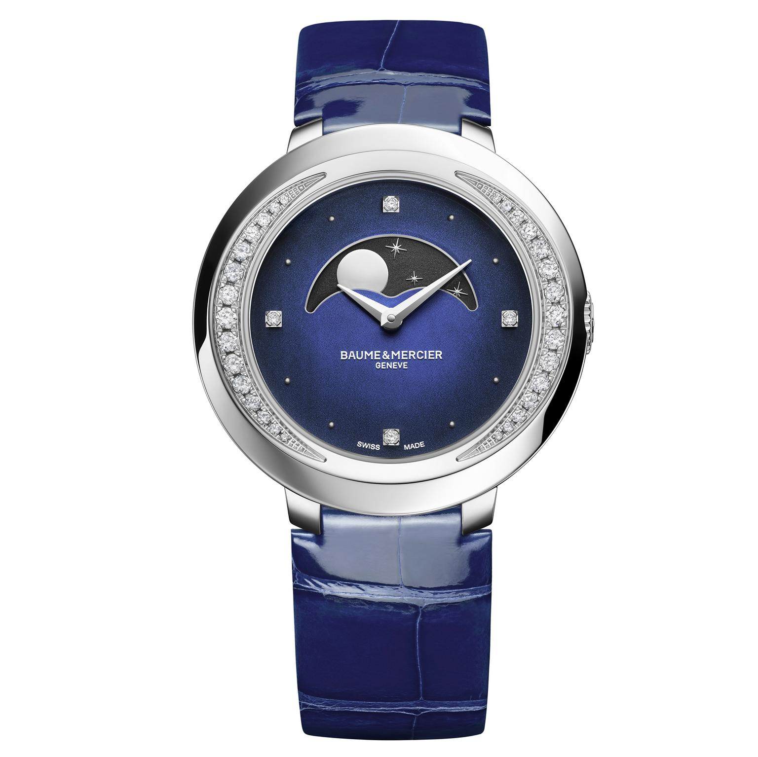 Baume & Mercier Promesse Moon Phase watch