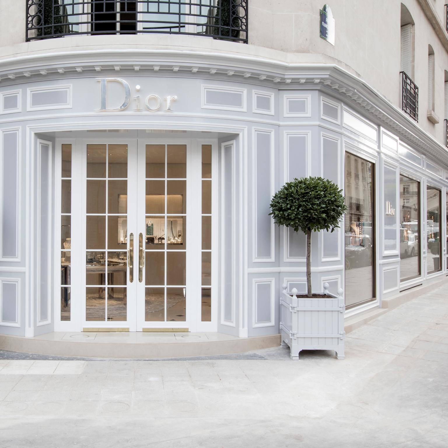 Dior's new Fine Jewellery and Timepieces boutique on avenue Montaigne, Paris