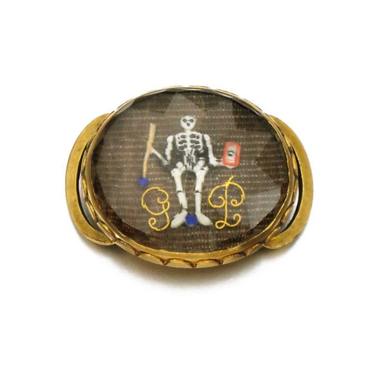 Dead chic: the vogue for memento mori jewellery