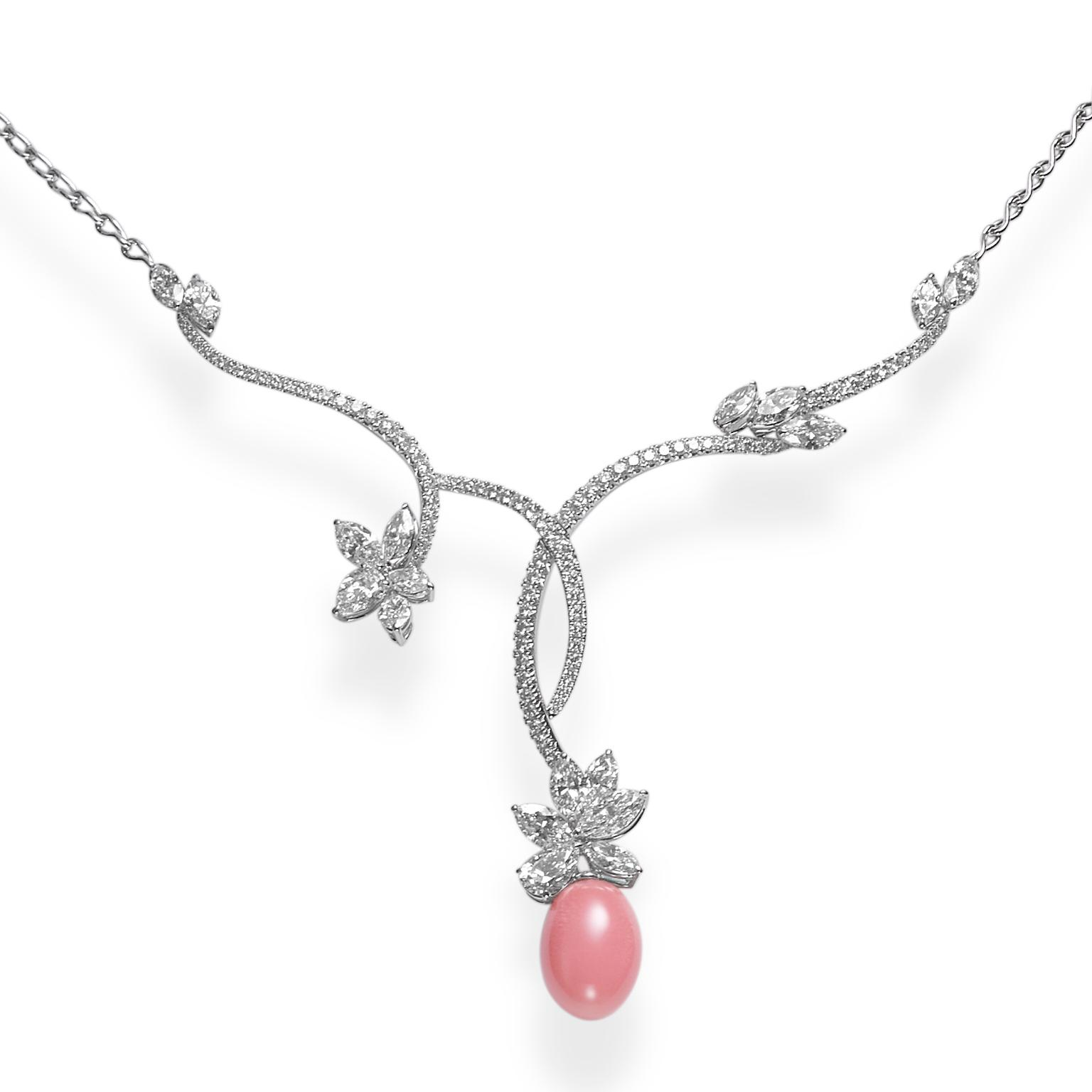 Mikimoto conch pearl necklace