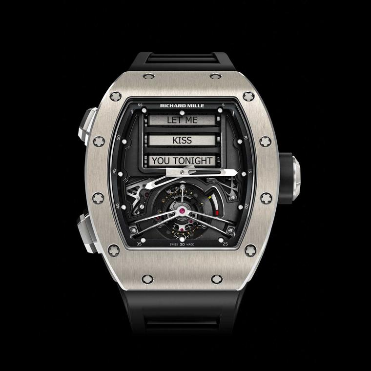 Richard Mille Tourbillon RM 69 Erotic front face