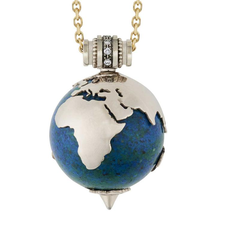 Venyx World Earth necklace £3000