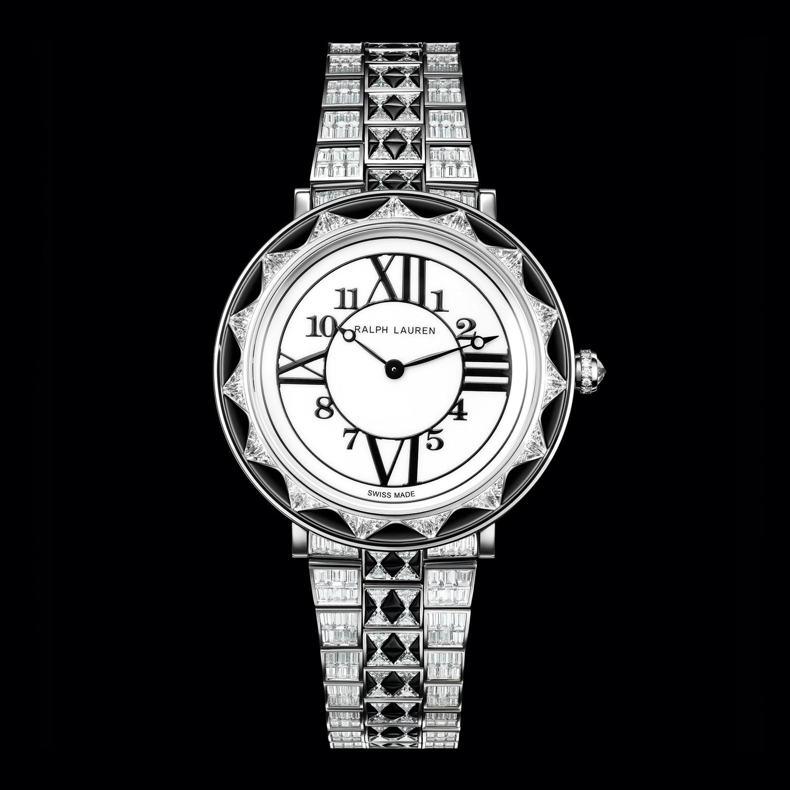 Ralph Lauren RL888 Deco Diamond watch