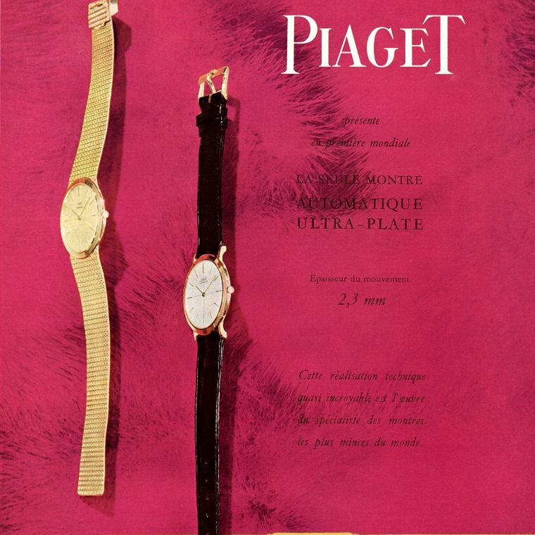 1960's Piaget Advert