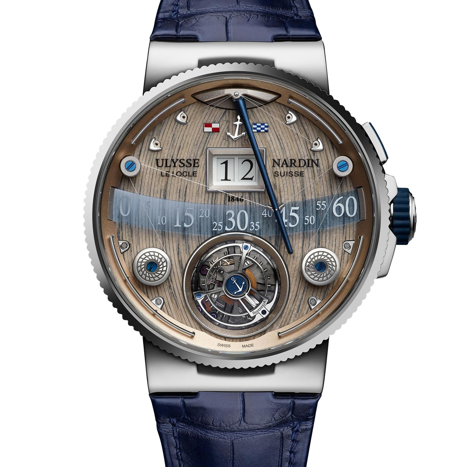 Ulysse Nardin Grand Deck Marine Tourbillon watch for men