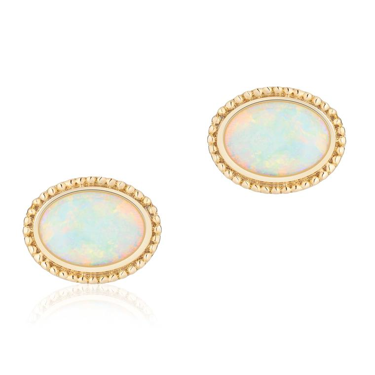 Les Plaisirs de Birks oval opal earrings as worn by Meghan Markle Price £850