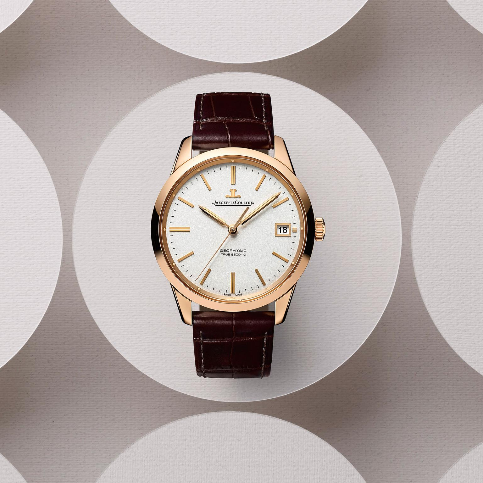 Jaeger-LeCoultre Geophysic True Second watch