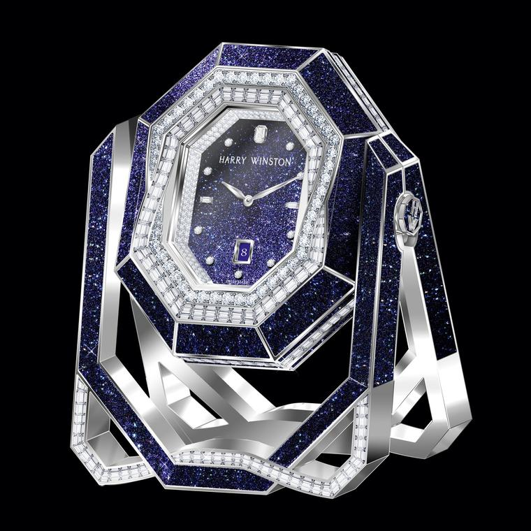 Harry Winston Emerald Time clock