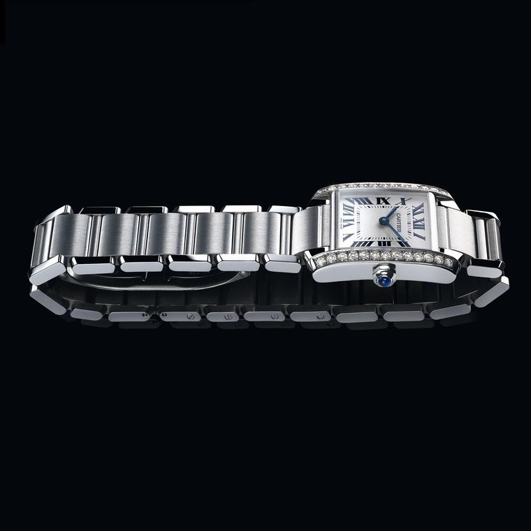 Cartier Tank Francaise watch in steel