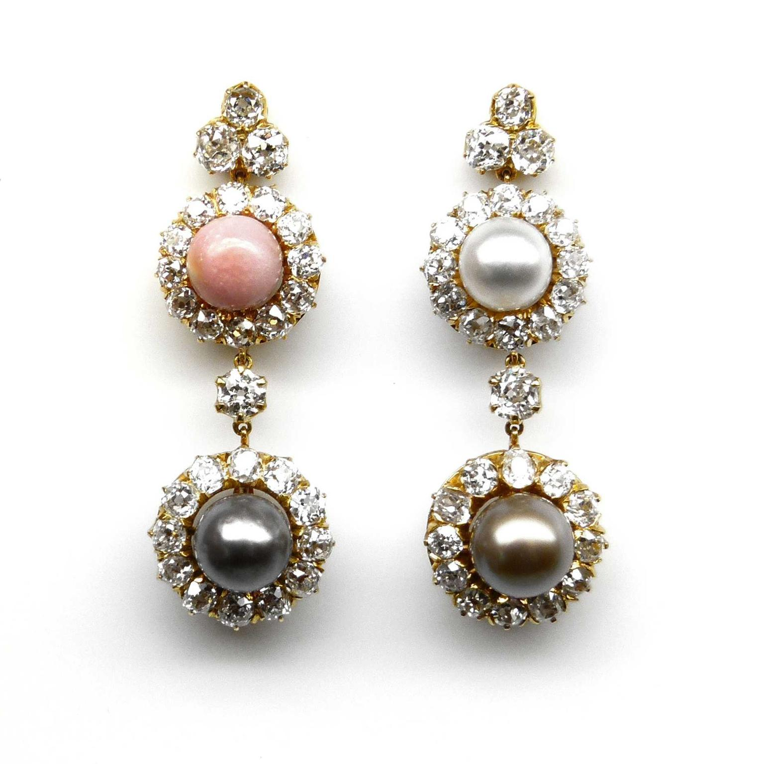 SJ Phillips pearl earrings