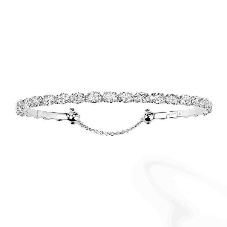 Messika Skinny diamond tennis bracelet