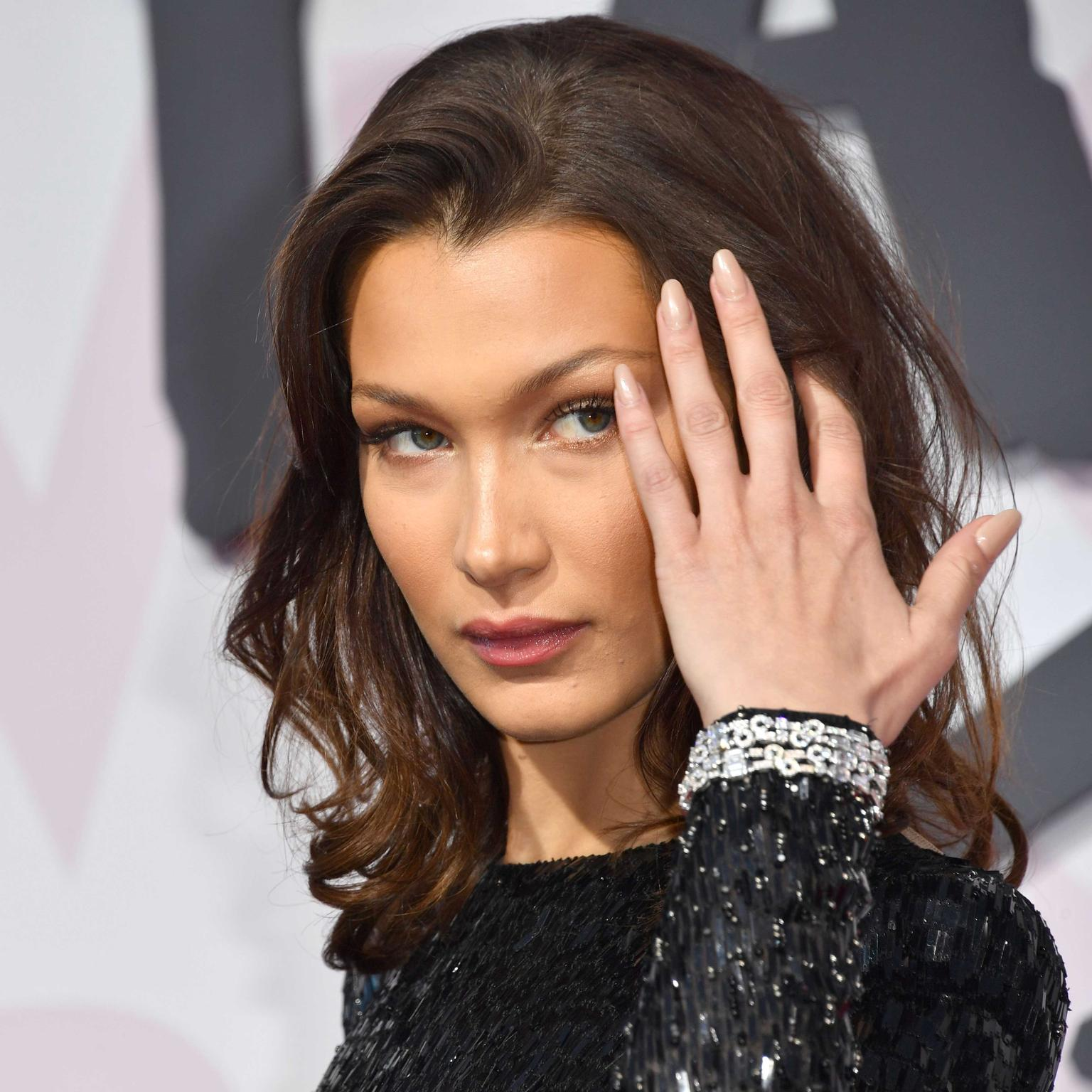 Bella Hadid at Fashion for Relief in Bulgari jewels at Cannes Film Festival