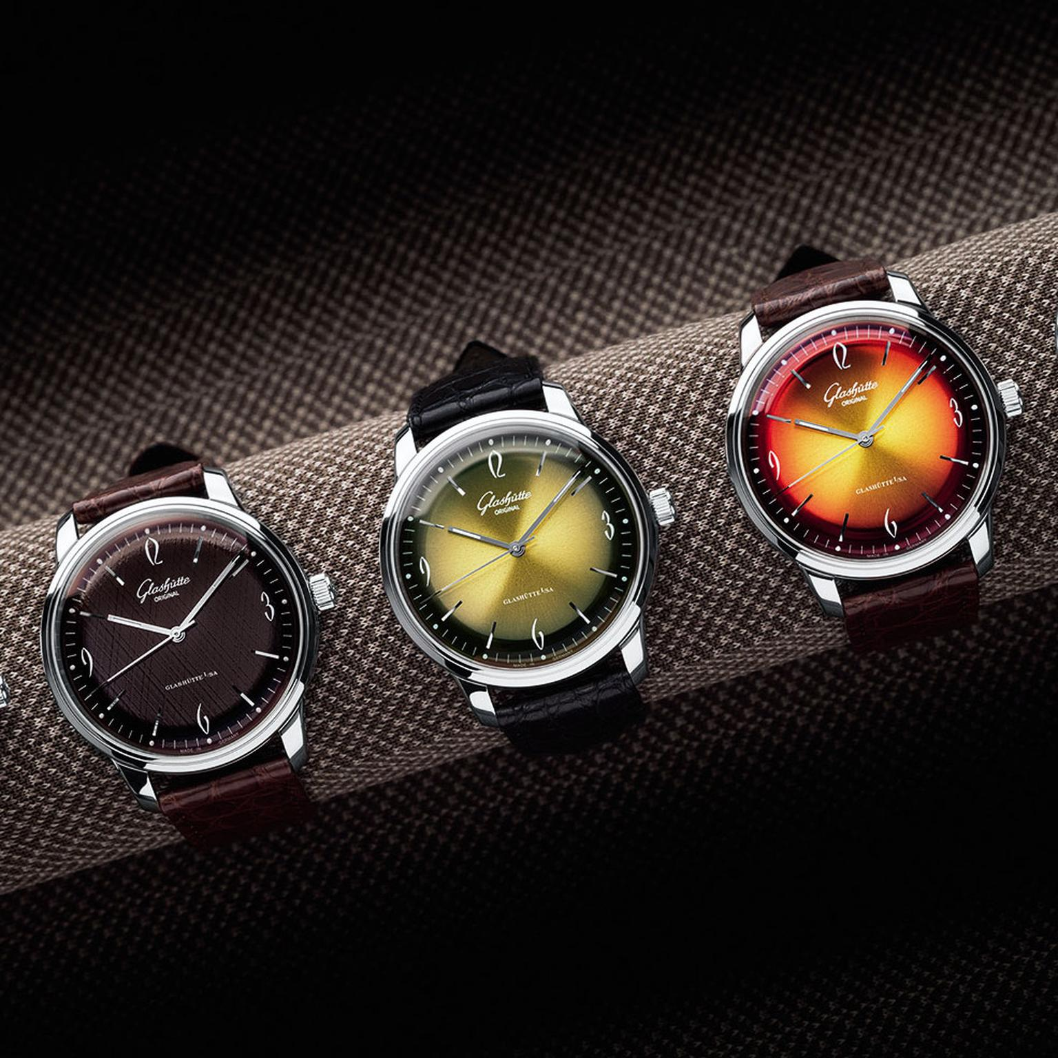 Glashutte Original Sixties Iconic Group watches