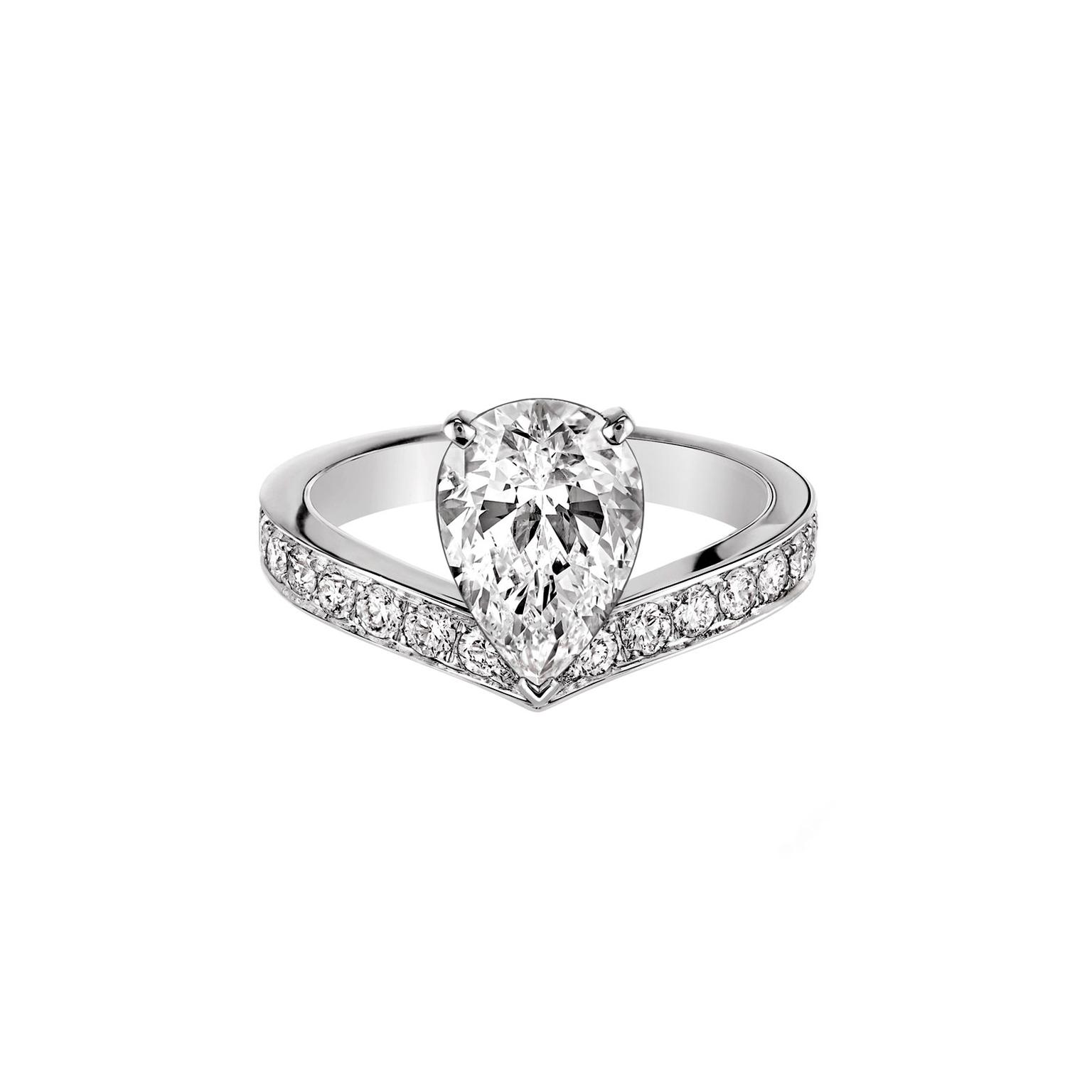 Chaumet Bague Aigrette diamond ring