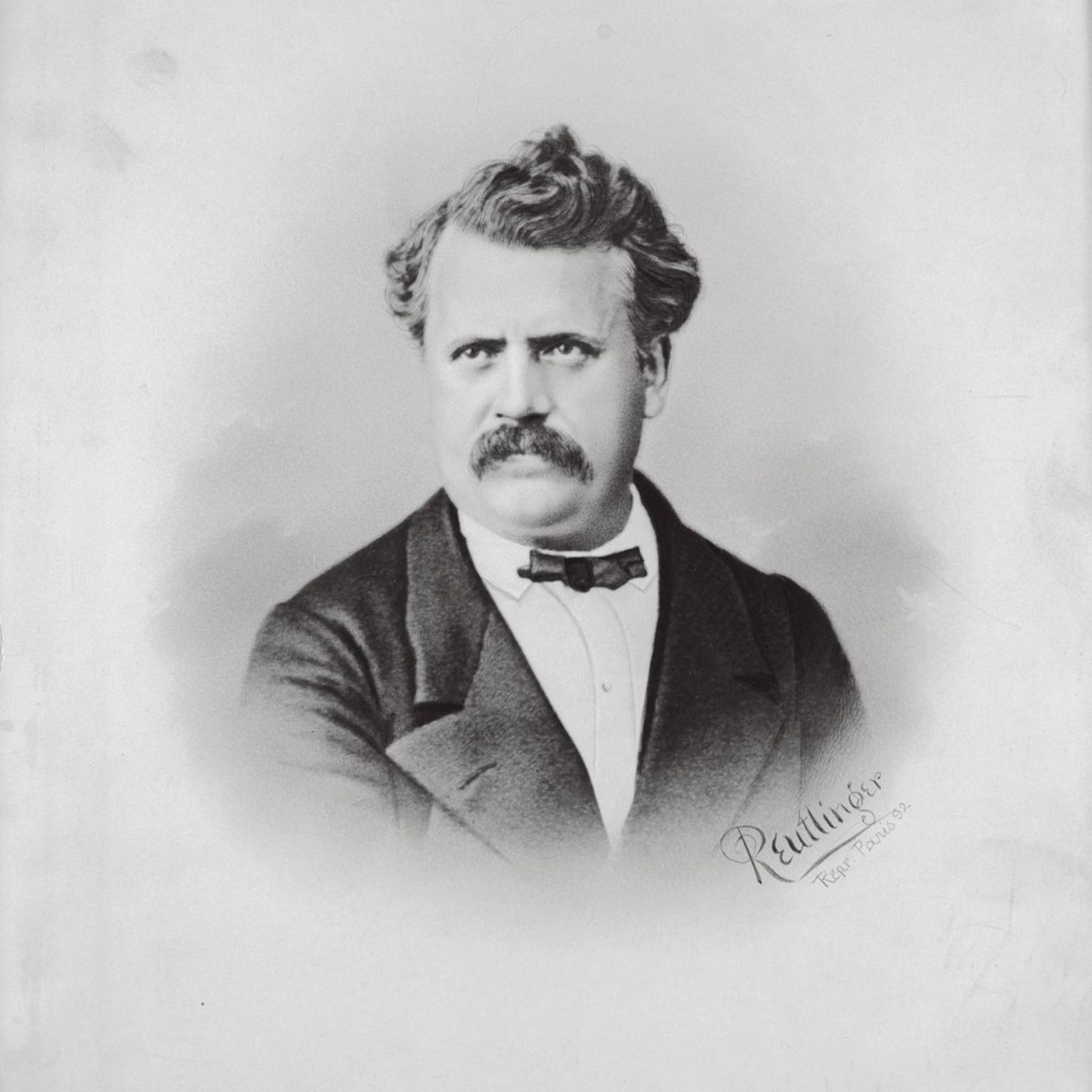 Portrait of Louis Vuitton