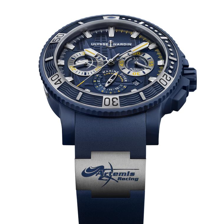 Diver Chronograph Artemis Racing watch