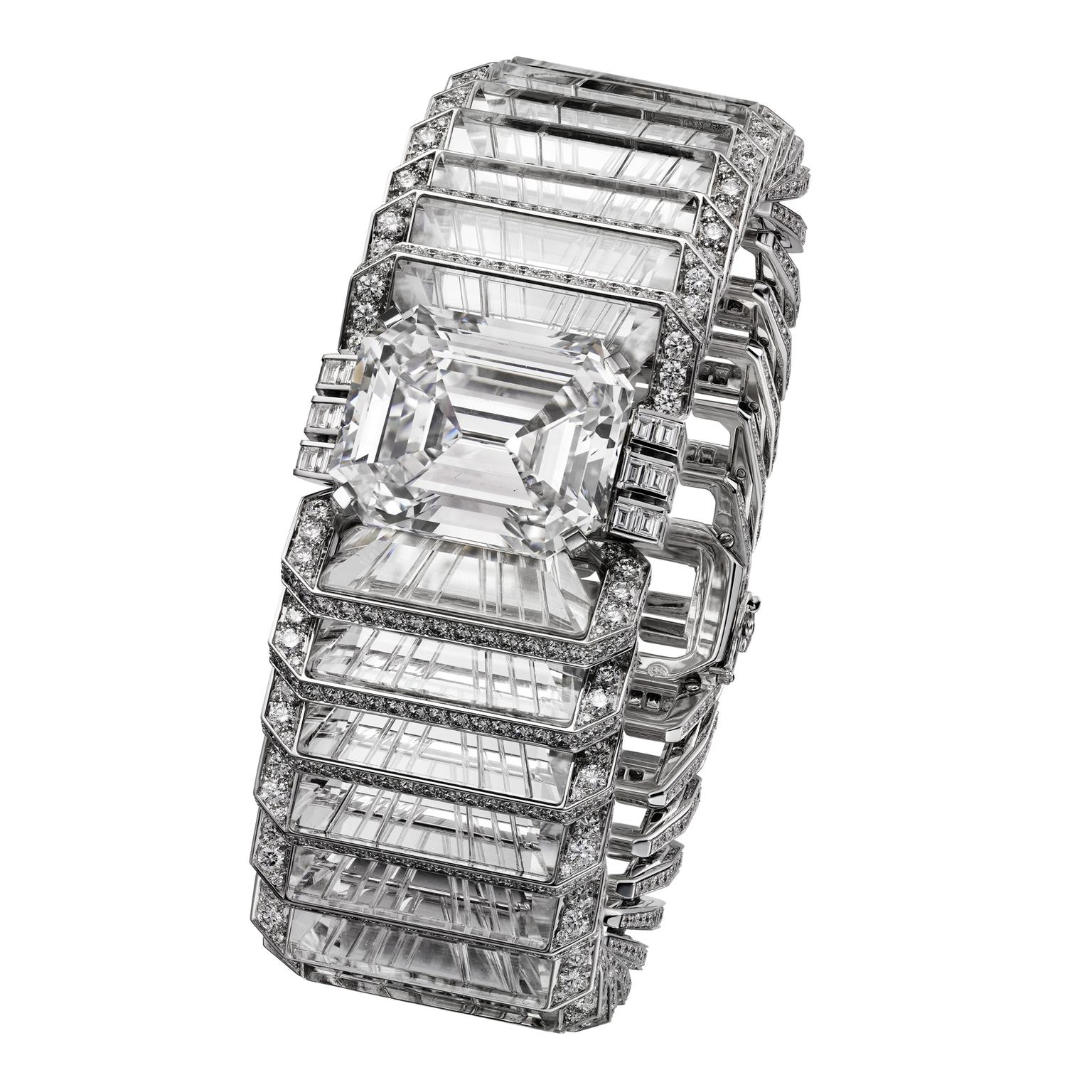 Cartier Magicien Illumination diamond bracelet