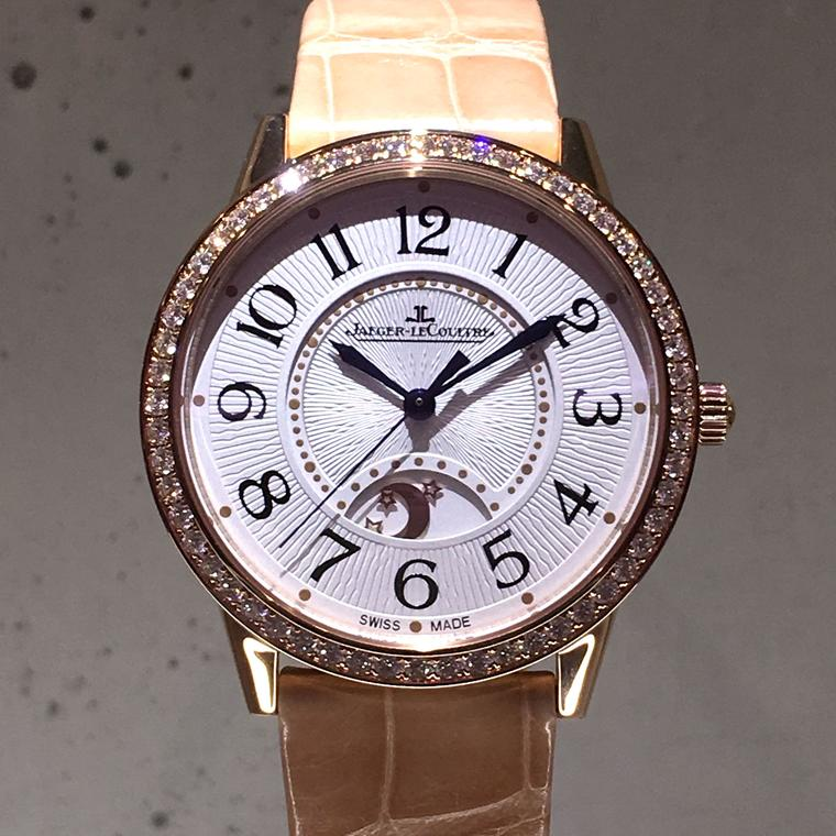 Jaeger-LeCoultre Rendez-Vous Night & Day Large in pink gold at the SIHH