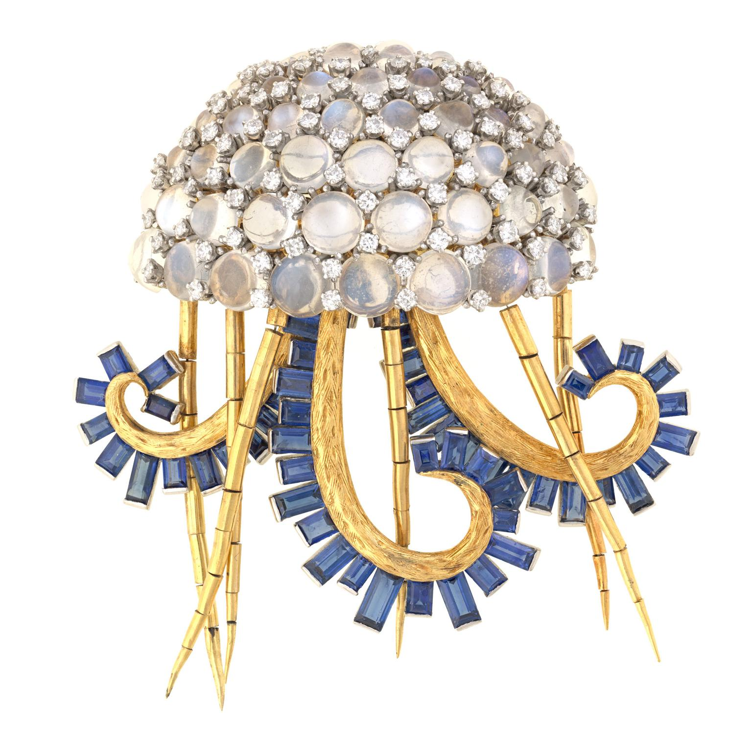 Jean Schlumberger Jellyfish brooch for Tiffany