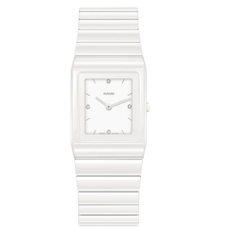 Rado Ceramica ladies' ceramic watch in white
