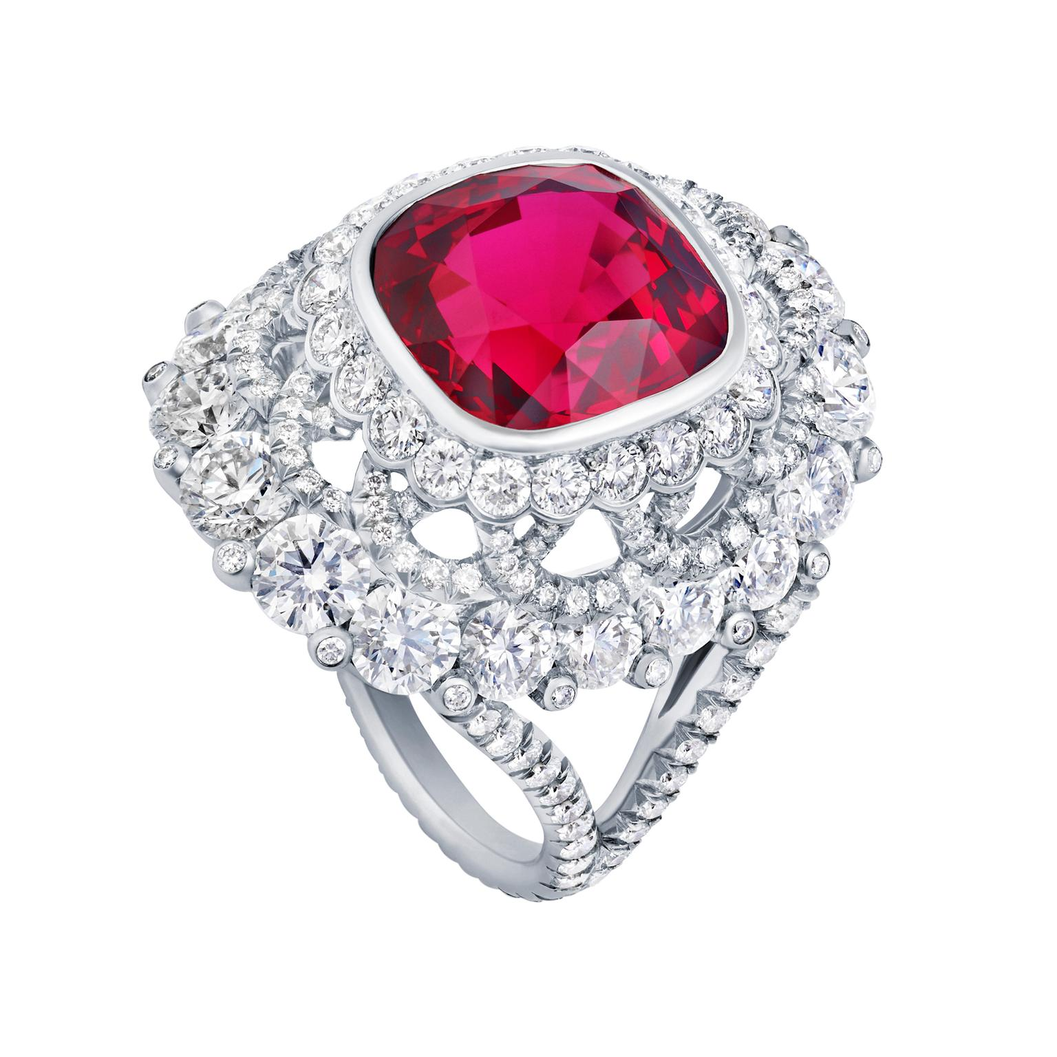 birthstone ring engagement stone red july eragem rings ruby