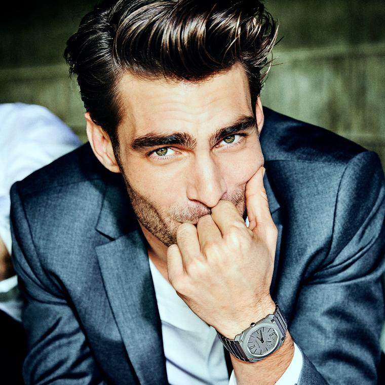 Jon Kortajarena Bulgari Octo Finissimo Automatic watch