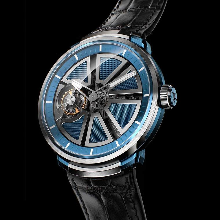 Fabergé Visionnaire Blue watch