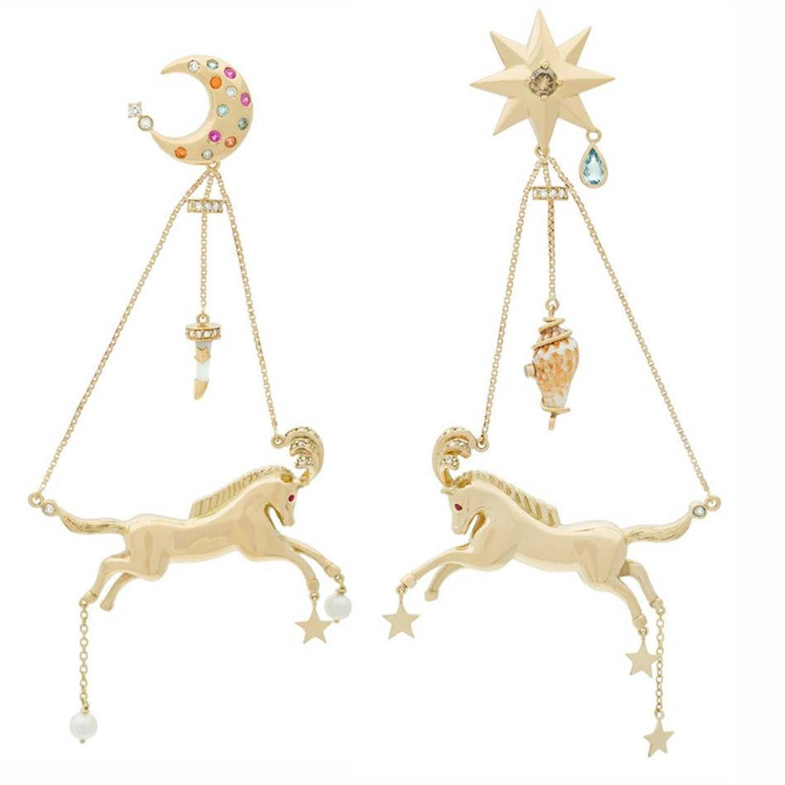 Aron & Hirsch Circus earrings